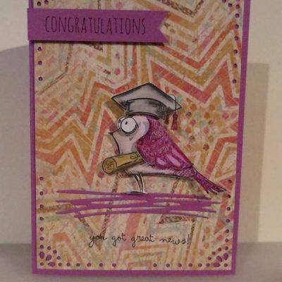 Congratulations - Graduation Card