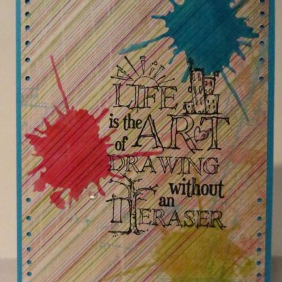 Life is the Art Card