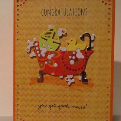 Congratulations you got great news Card