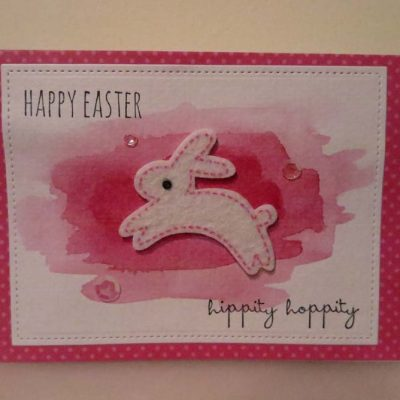 Happy Easter hippity hoppity Card