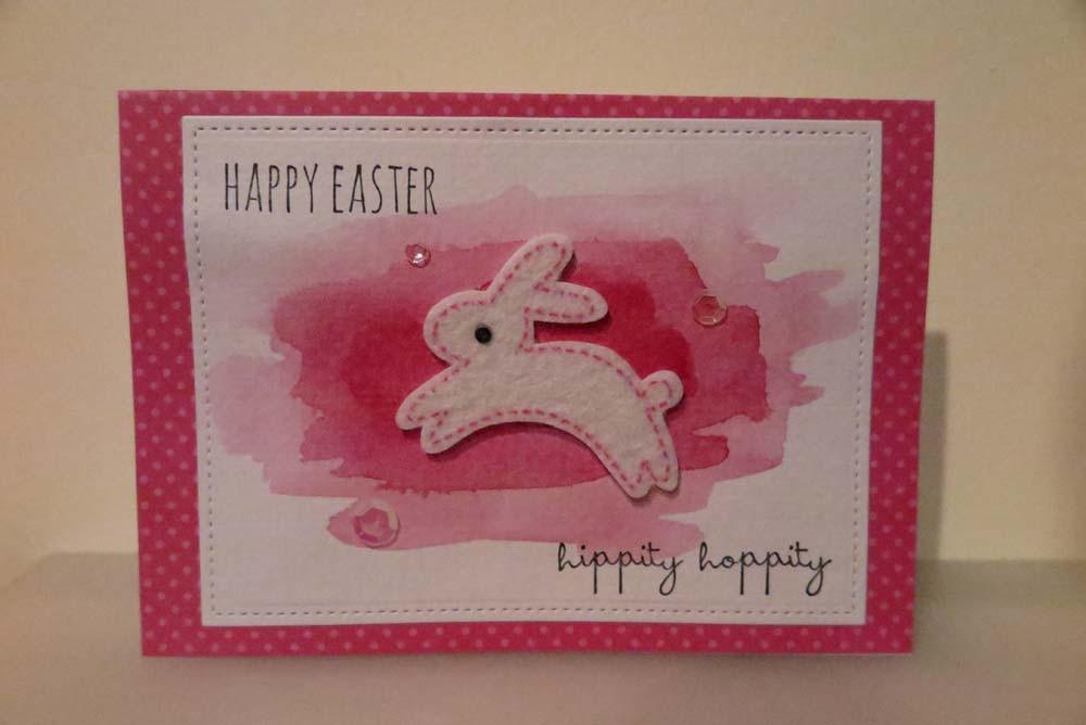 Happy Easter hippity hoppity Card
