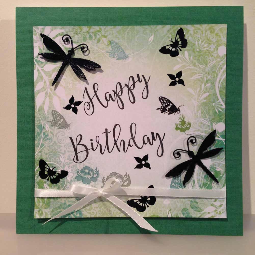 Happy Birthday Card Big Size Nuts On Shells